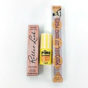 BENEFIT Sample Set Brow Pencil Mascara Pore Makeup